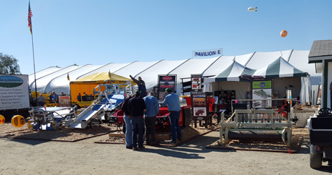 Sutton Ag booth at 2016 World Ag Expo