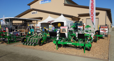 Sutton Ag's booth at the 2018 World Ag Expo