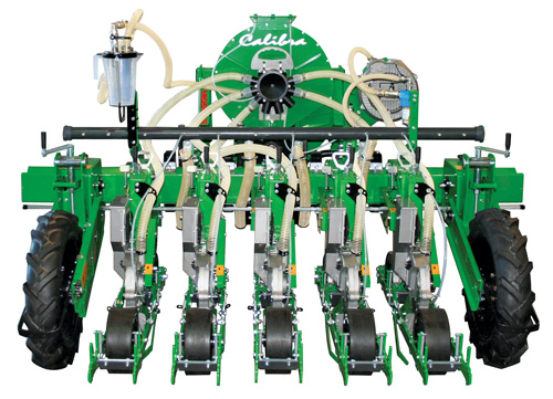 5-Row Calibra vacuum planter