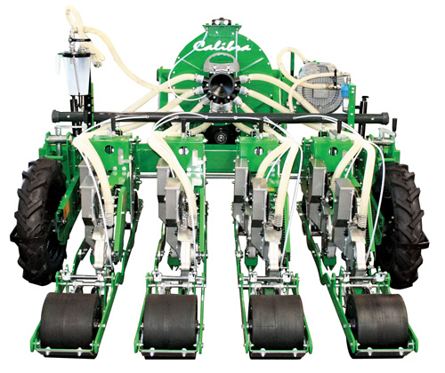 4-Row Calibra Tandem planter