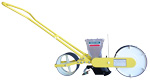 Single row Clean Seeder AP push planter