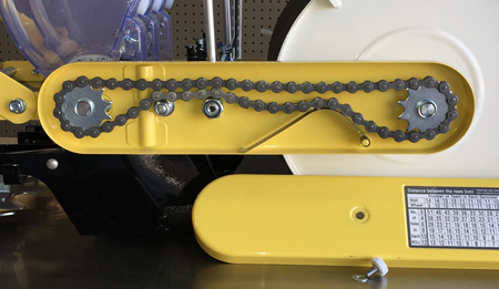 Clean Seeder chain drive