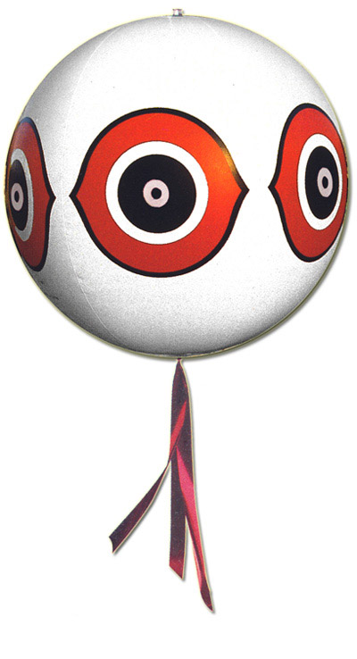 White Eye Spot Balloon