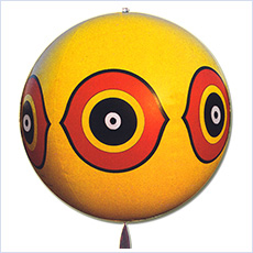 Yellow Eye Spot Balloon