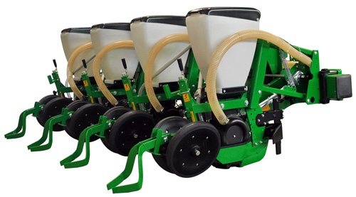 4-Row Gamma vacuum planter