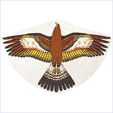 "Bird scaring kite, 36"" eagle"