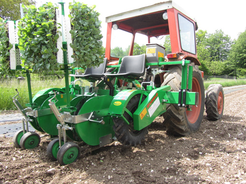2-Row Plantec One Transplanter