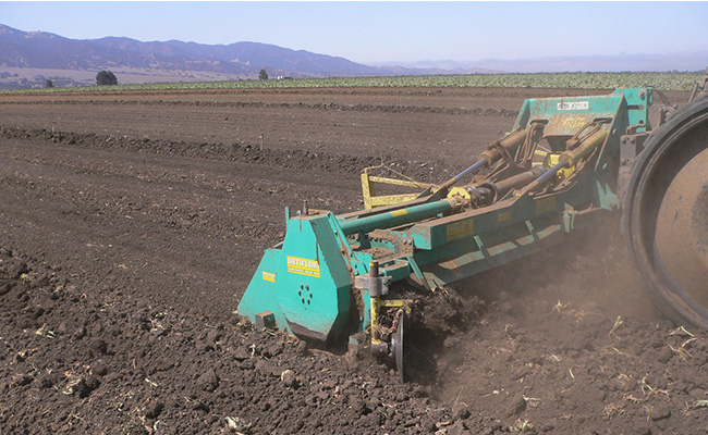 Ortiflor 3-bed folding mulcher