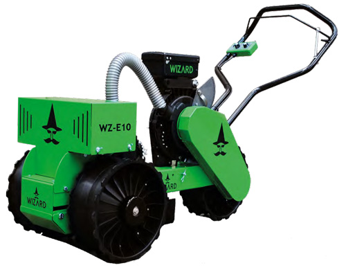 Wizard electric self propelled seeder