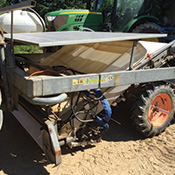 Used Ortomec harvester
