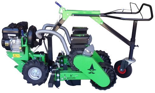 Wizard A20 walk behind vacuum seeder