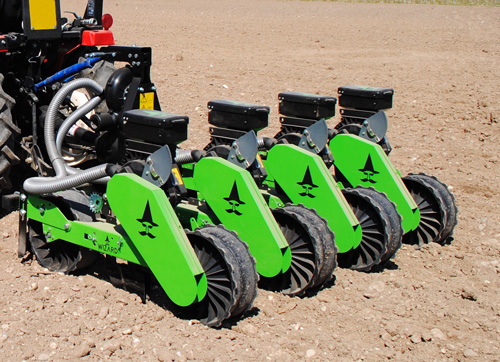 Wizard D series tractor mounted vacuum planter
