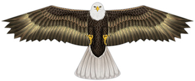 X-Kite Bald Eagle bird scaring kite
