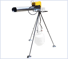 Electronic Zon bird scare cannon with tripod